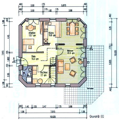 Hausbau Grundriss grundrisse haus